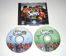 The Sims 2 PC Game 2004 Complete Special DVD Edition Maxis 2 Discs