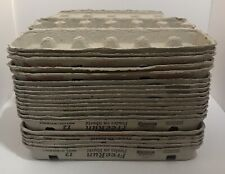 Lot Of 20 Used Cardboard Egg Cartons 12 Count Large Clean