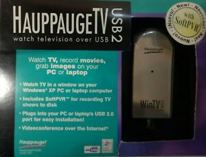 TV Tuner USB: HauppaugeTV-USB2 Model 1031 for Win XP.. Analogue and Remote