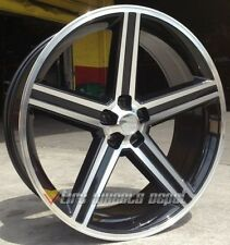 "26"" INCH IROC BLACK AND MACHINE WHEELS + TIRES CAMARO MONTE CARLO 5X120"