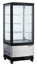 Maxx Cold MECR-31D Countertop 3cf 1 Door LED Refrigerated Glass Merchandiser