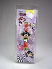 RARE NEW Powerpuff Girls Vintage Digital Watch Cartoon Network 2000 Buttercup
