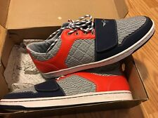 Creative Recreation Mens Cesario Lo Indigo Papaya Stripe Fashion Sneakers 17 M