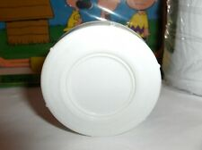 White Aladdin Thermos Stopper`Fits Peter Pan & Many Other Thermoses-Lox #-30