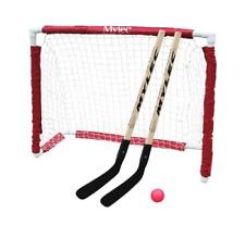 Hockey Goal Set Street Sticks Ball Net Outdoor Sports Kids Nhl Folding Equipment