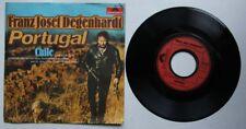 Franz Josef Degenhardt Portugal Rare 1974 7in PS