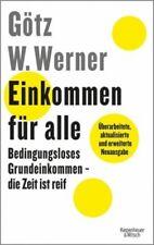Einkommen für alle von Götz W. Werner; Enrik Lauer (Buch) NEU
