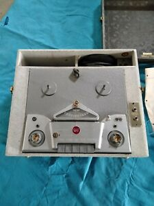 Vintage Wilcox-Gay Tape Recordio Reel to Reel Tape Recorder Player Model 4F10