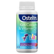 Ostelin Kids Calcium & Vitamin D3 Berry Tingle Flavour 90 chewable tablets