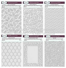 Creative Expressions - Sue Wilson 3D Embossing Folders - Festive 2019 - NEW