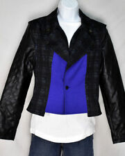 June Ambrose Moto Jacket with Removable Sleeves to Make a Vest Sz Sm  #CHS00952