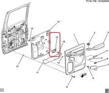 HANDLE. Door Lock Remote Control Inside GENUINE GM 15760297