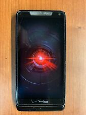 Motorola Droid RAZR M - 8GB + 8GB MicroSD - Black (Verizon)  -USED -WORKS
