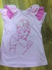 DISNEY Princess Girls Rosa diamontees top da Harrods età 9-10 anni