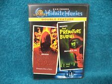 The Masque of the Red Death/Premature Burial DVD Midnite Movies Double Feature