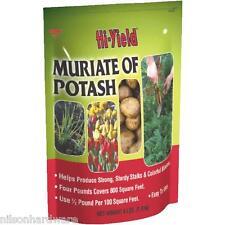 Hi-Yield 4# Analysis 0-0-60 Flower Vegetable Garden Muriate Of Potash 32145
