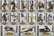 Rebel Attax Serie 1 limitierte Auflage aussuchen Topps Star Wars Karten