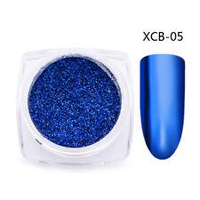 3D Nail Art Glitter Dust Powder Chrome Pigment DIY Manicure Decor Tips 6Colors