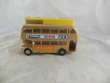 extrêmement Rare Budgie 236 AEC BUS ROUTEMASTER doré jubilé de Londres transport