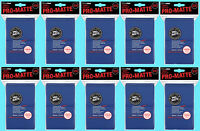 1000 ULTRA PRO BLUE PRO-MATTE STANDARD SIZE DECK PROTECTORS Card Sleeves MTG