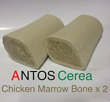 Antos Cerea Marrow Bone x 2pcs ~ Chicken ~ 100% Vegetable Dog Chews
