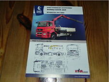 KAMAZ 5325 4x2 Truck LKW Camion brochure prospekt catalogue