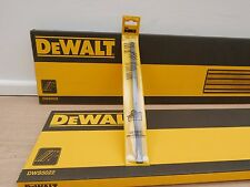 2 X DEWALT DWS5022 1.5METRE PLUNGE SAW & ROUTER GUIDE RAILS & DE6292 JOINING BAR