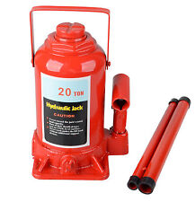 20T Auto Hydraulic Heavy Duty Lifting Adjustable Height Lift Hoist Bottle Jack