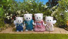 Sylvanian Families - Persian Cat Family - Brand New