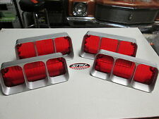1972 CUTLASS 442 NEW PAIR OF CORRECT TAILLIGHT LENSES LENS