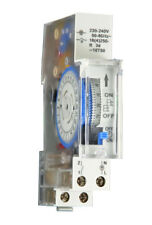 Switchboard Electrical Mechanical Timer 24 Hour Electricians Tools Pool Pump