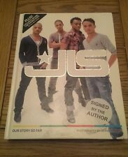 Our Story So Far SIGNED JLS 1st/1st Marvin Humes Aston Merrygold JB Gill Ortise
