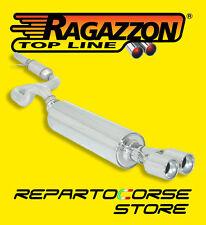 RAGAZZON CENTRALE TERMINALE ROTONDI 2x80 SEAT LEON 1M 1.8 TURBO 03/2000 08/2005