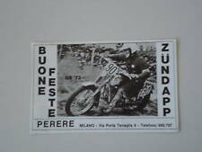 advertising Pubblicità 1972 MOTO ZUNDAPP GS '73