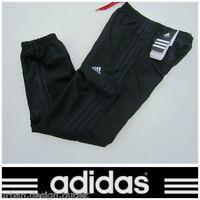 Adidas Junior Tracksuit Bottoms Black Blue Boys Kids Track Woven Jog Pant 7-14 Y