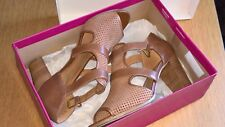 women's shoes  naturalizer brown sandals size 6.5 UK used boxed