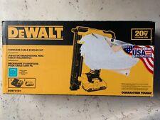 Dewalt Cordless Cable Stapler Kit DCN701D1