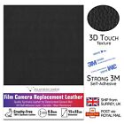 Camera Body Replacement Leather Synthetic 0.8mm Thin 3M Self-Adhesive MADE IN UK