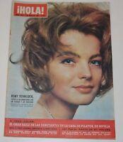 HOLA #1079 1965 Romy Schneider Sylvie Vartan Sheila Marisol Vespa Royalty UK