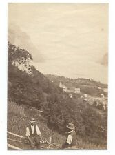D011 Photographie vintage original Suisse 1873 Albuminé Albumen