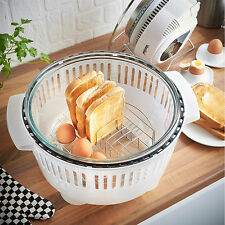 Halogen Oven Breakfast Toast Eggs Healthy Grill Rack for 10 - 12 L Ovens
