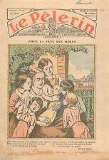Fête des Mères Nombreuse Poésie Poème de Victor Hugo Paris France 1935