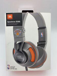 JBL By Harman Synchros S300 NBA Sound On Ear Headphone - New York Knicks