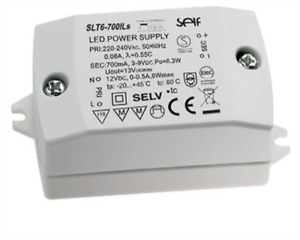 "elektronischer LED Konverter ""SLT6-700ILs"" Konstantspannung, Konstantstrom 0-6W"