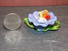 Dollhouse Miniature Teapot LARGE OVERSIZED  2 inches wide  1 inch tall F13