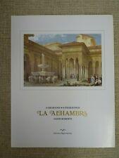 David Roberts - La Alhambra engravings - set of 6 prints | Thames Hospice
