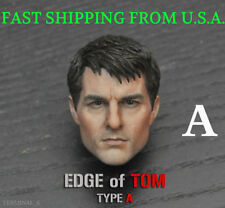 """1/6 Tom Cruise Head Sculpt Edge of Tomorrow For 12"""" Hot Toys PHICEN Figure ❶USA❶"""