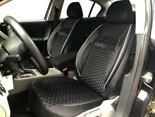 Sitzbezüge Schonbezüge für Daihatsu Materia schwarz-weiss V1823740 Vordersitze