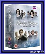 CHARLES DICKENS 200TH ANNIVERSARY COLLECTION *BRAND NEW DVD BOXSET*