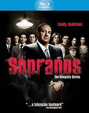 THE SOPRANOS - THE COMPLETE SERIES BOXSET (BRAND NEW BLURAY REGION FREE)